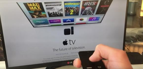Apple TV ブラウザ