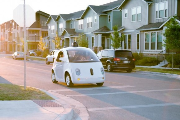 Google Ford 自動運転車