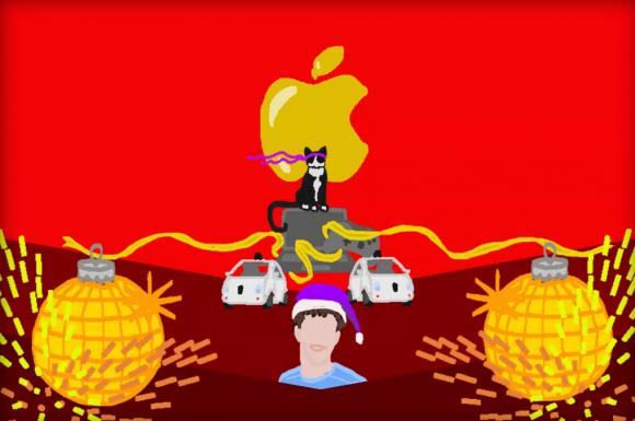 Appleから年末のあいさつ状(空想)