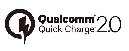 Qualcomm® Quick Charge™ 2.0