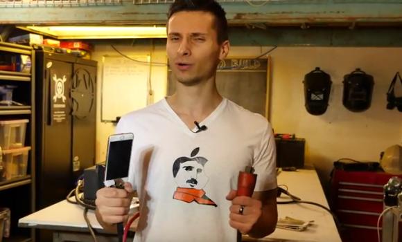 iphone6 高圧電流 爆発