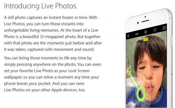 Apple Live Photos