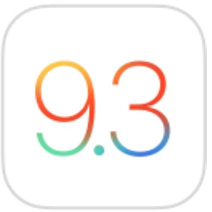 iOS9.3ロゴ