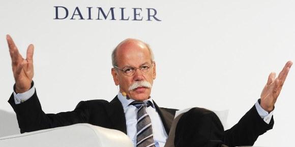 ダイムラー Daimler ディーター・ツェッチェ CEO