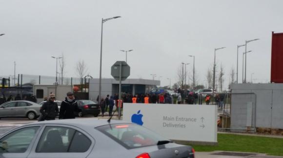 Apple アイルランド 爆発物