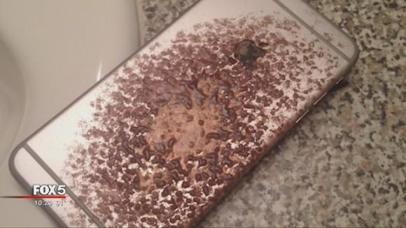 iphone6 燃える