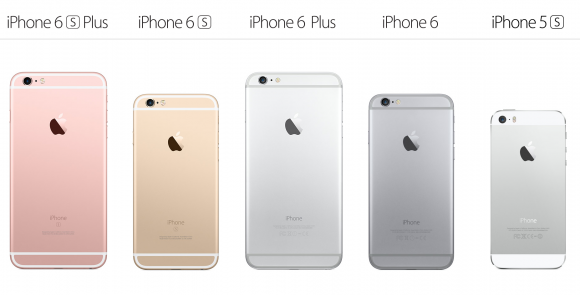 iPhoneを比較