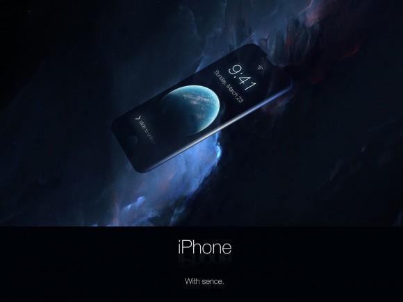 iPhone コンセプトデザイン