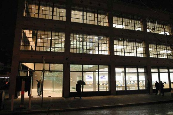 ニューヨーク Apple Store