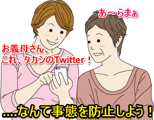 Twitter設定トップ