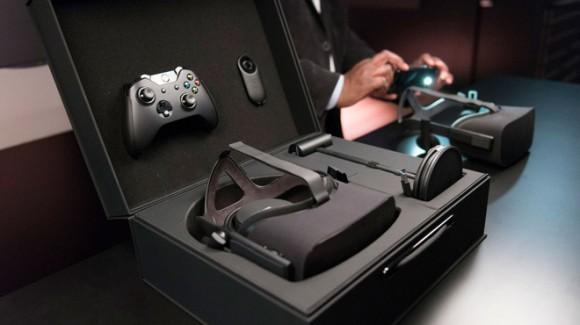 VR ヘッドセット oculus rift