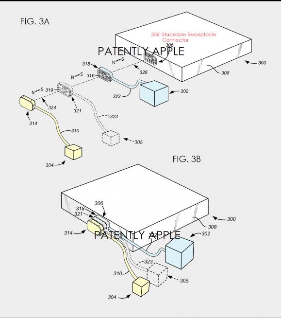 Apple 特許 コネクター