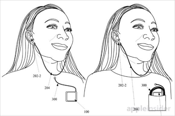 Apple 特許 イヤホン