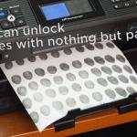 インクジェットプリンターで指紋を複製
