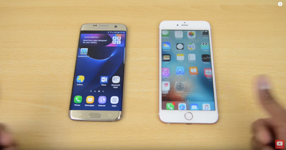 Apple iPhone6s Galaxy S7