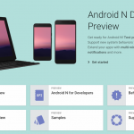 Android N 開発者