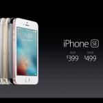 iPhone SE 原価