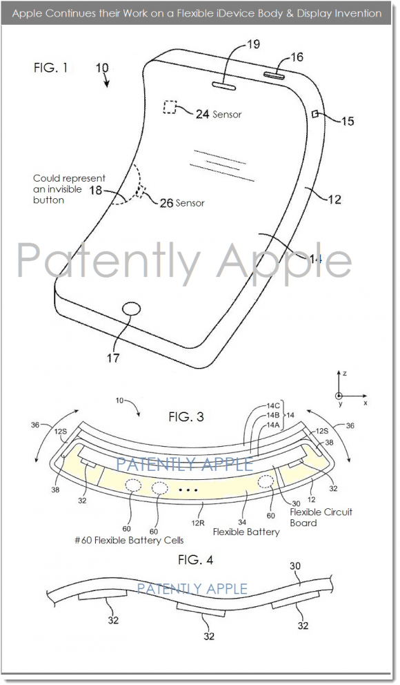 フレキシブル電子デバイス 特許