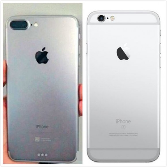 iPhone6sとiPhone7