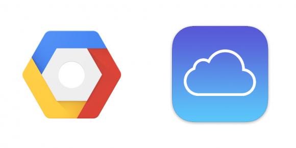 Apple iCloud Google