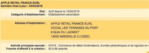 Apple フランス マルセイユ