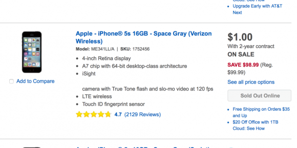 iPhone SE 5s