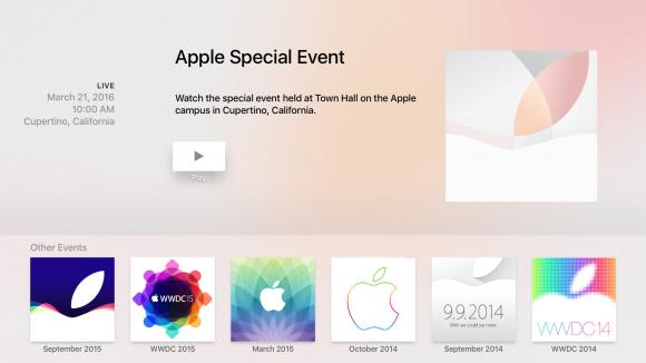 Apple TV スペシャルイベント