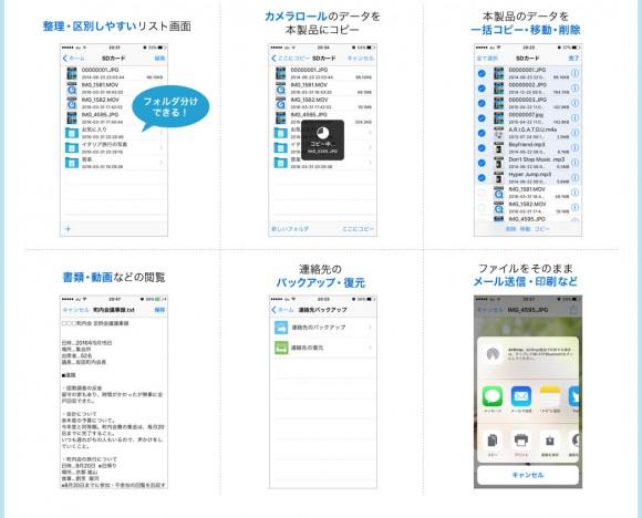 iPhone iPad データ転送