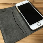 ELECOM iPhone SE 手帳 ケース