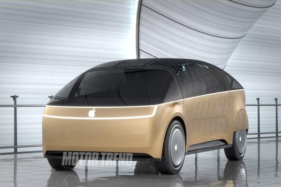 Motor TrendによるApple Car デザイン