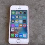 iPhone SE 落下テスト