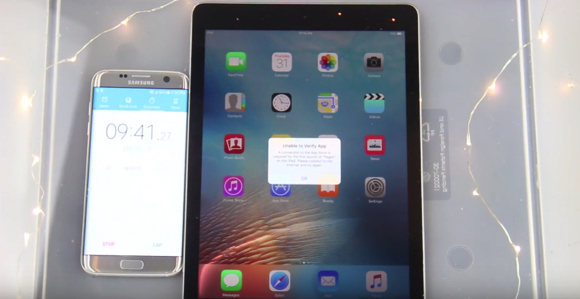 iPad Pro 防水 耐水 実験