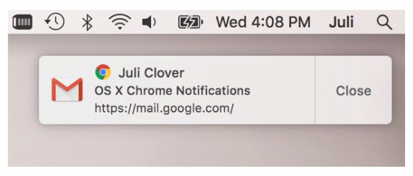 OS X Google Chrome