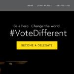 ジョン・マカフィー氏 「Vote Different」