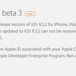 iOS9.3.2beta3