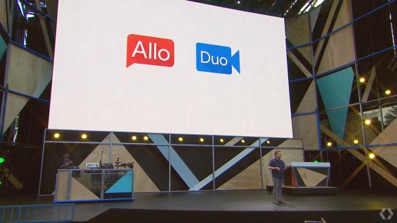 Google I/O Allo Duo