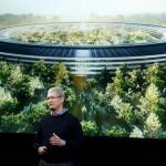 Apple Campus2 ティム・クックCEO