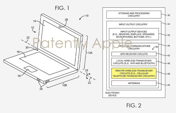 MacBookに通信モジュール内蔵モデル投入?