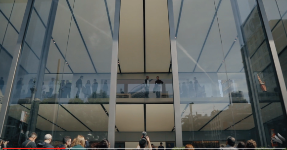 Apple Store サンフランシスコ ユニオンスクエア