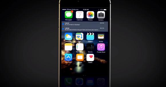 iOS10のコンセプト動画