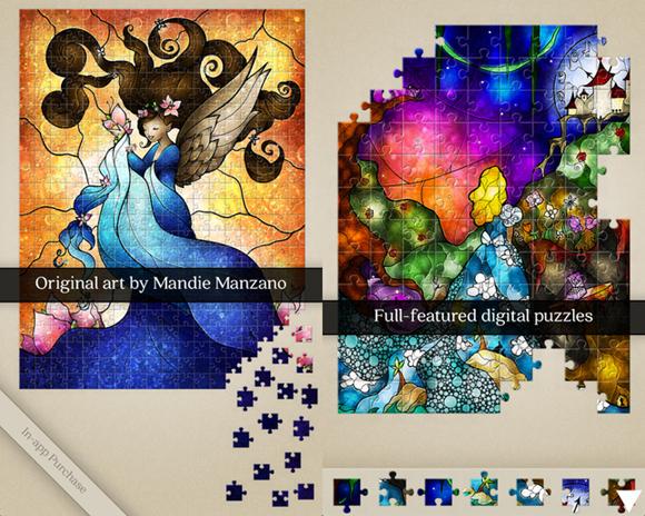 Mandie Manzano Jigsaw Puzzle Artレビュー