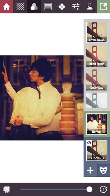 簡単にオシャレな画像が作れる加工アプリ