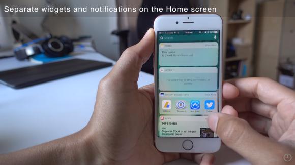 iOS 10 新機能