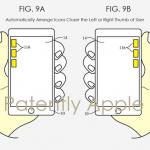 Apple 片手操作 特許
