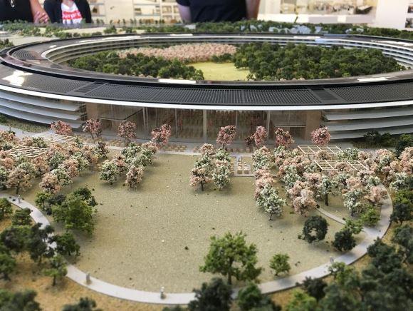 Apple Campus2の工事現場詳細レポート