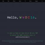 Apple WWDC2016