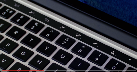 MacBook Pro OLEDタッチバー