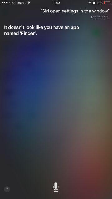 Siri OS X