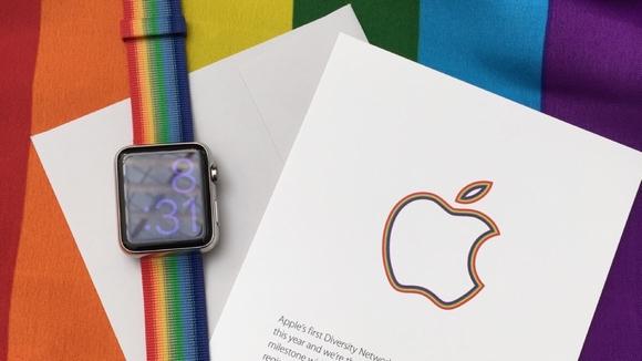 LGBT Pride Apple Watch