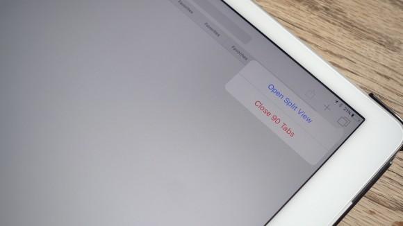 Safari iOS10 Split View タブ